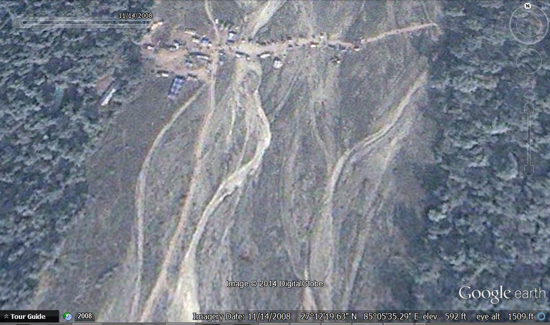 Google Earth 14 November, 2008