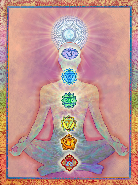 Yoga journey through the chakras: jaime tancredi w/binaural beats jiva jam