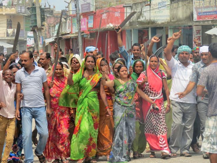 really peace gaur-armed-rally