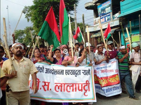 lathi rally in madesh reminds of bomjons lathi