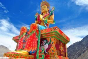 Maitreya diskit monastery leh ladakh devilonwheels