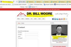dr bill more psychologist NOT HIM