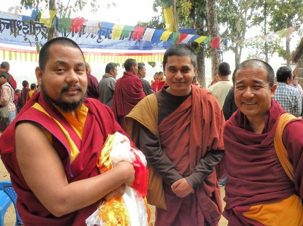 lobsang namgyal rinpoche khenpo and pragya feb 2011 mahapranidhan