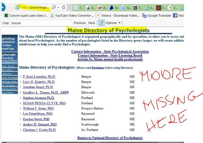 ME directory of psychologists tady taky chybi