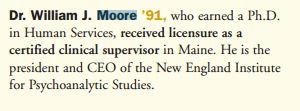 moore in maine exsted