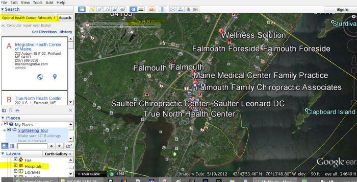 optimal health center falmouth 2012