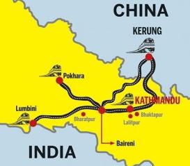 RAIL CHINA INDIA