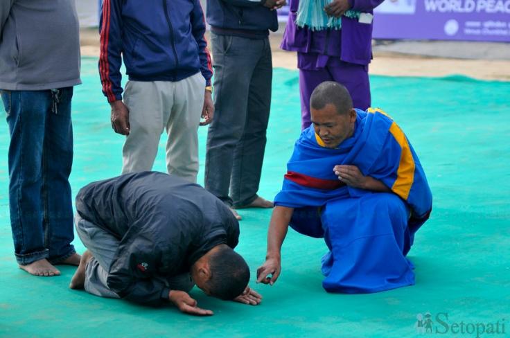 2017 Kathmandu World Peace Maitri Puja